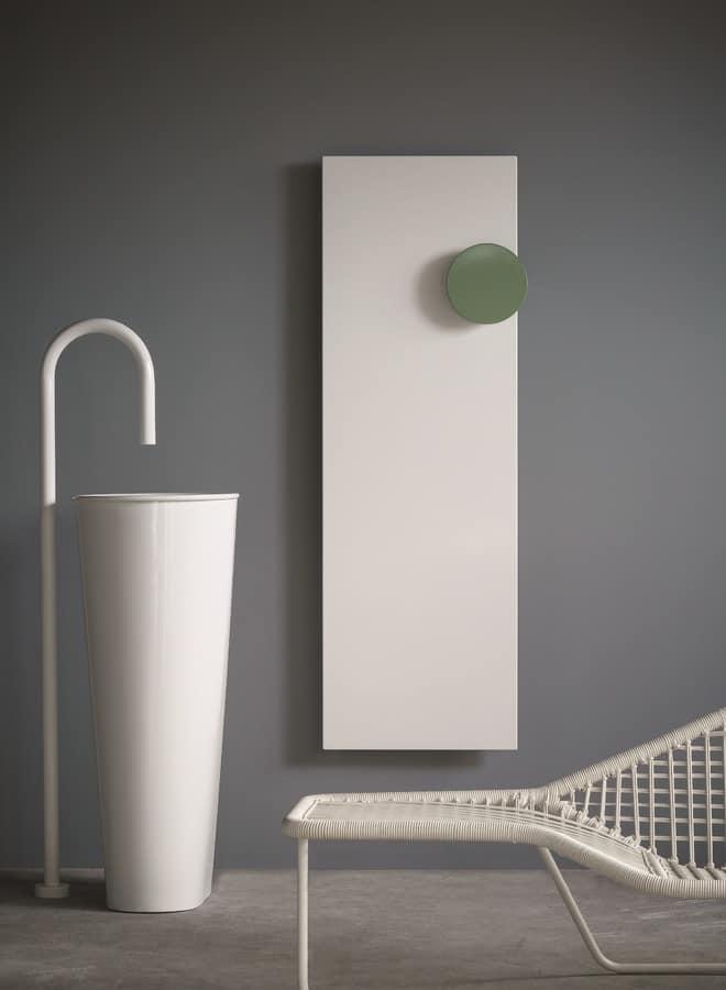 Square, Metall-Heizkörper mit Handtuchhalter