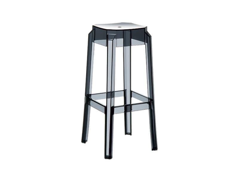 Febe 75, Stapelbaren Stuhl aus Kunststoff, leicht und robust