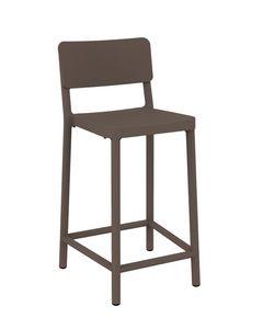 Lisboa - SG2, Stuhl aus Polypropylen, beständig gegen Sonnenlicht