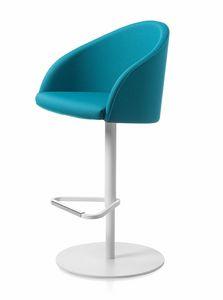 Kameo stool, Höhenverstellbarer Hocker
