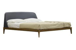 Bellagio 2807/F, Bett mit gepolstertem Kopfteil