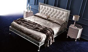 Clara Art. 882, Klassisches Bett mit klaren und eleganten Linien