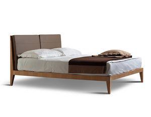 Felice 2890, Bett mit Lattenkopfteil und abnehmbaren Kissen