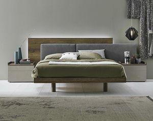 Halifax, Bett mit asymmetrischem Design