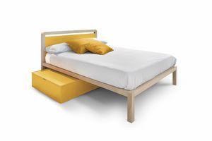 Navy, Bett für Jungen und Mädchen
