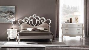 Sofia Art. 898, Bett mit einem romantischen und raffinierten Geschmack