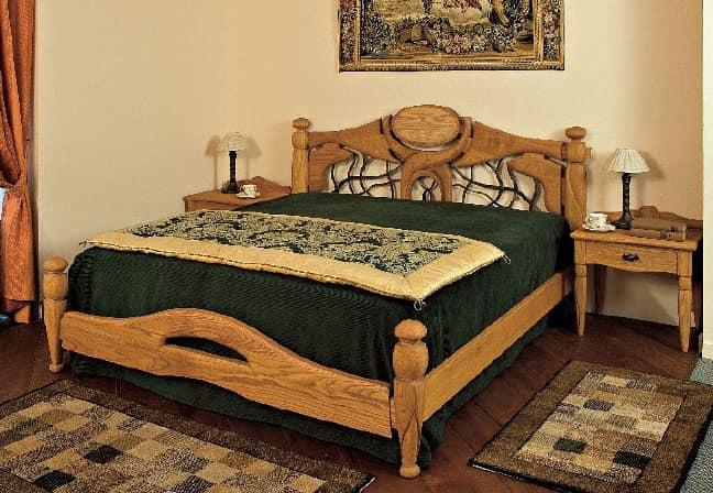 Collezione Castello, Komplette Ausstattung für die Hotelzimmer, rustikalen Stil, Holz massiven Kastanien