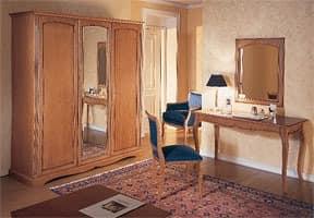 Collezione Medea, Stilvolle Möbel für die Zimmer-Hotel mit eleganten Kirschholzdekor