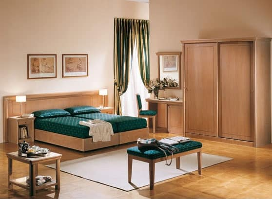 Collezione Thema, Schlafzimmermöbel für Hotels und B&B zugeschnitten