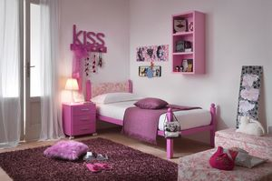 Liz, Einzelbett für Mädchen