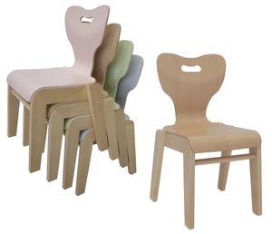 MIA/Q, Bequemer Stuhl für Kindergärten und Schulen