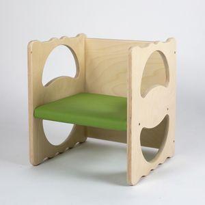 VANITY/I, Mehrzweckstuhl aus Holz, stapelbar