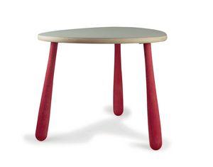 JOKER/T, Holztisch für Kinder