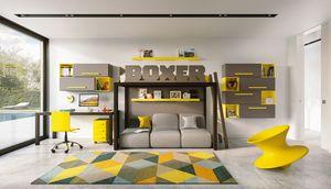 Boxer 1820, Kinderschlafzimmer mit Hochbett