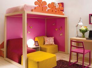 Boxer 7070, Mädchenschlafzimmer mit Pantographen mit Blumen