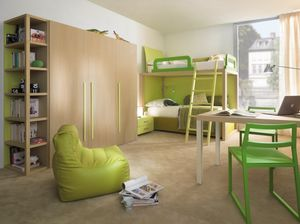 Boxer 9007, Schlafzimmer mit Etagenbett