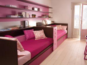 Compact 7040, Rosa Schlafzimmer für kleine Mädchen