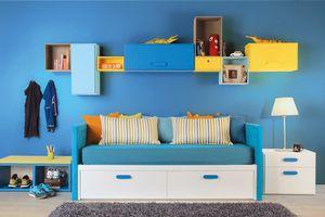 Compact Einzelbett, Einzelbett mit Schubladen