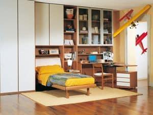 Jungen Zimmer 06, Modulare Schlafzimmer für Jungen, Qualität