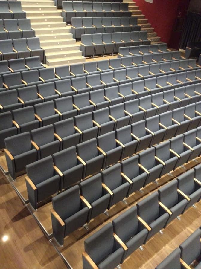 Giada ASC, Sessel für Theater, Klappsitz, in Polyurethan