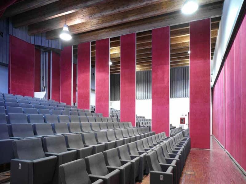 Gonzaga, Feuerfeste Theatersessel mit hohem Komfort und Design