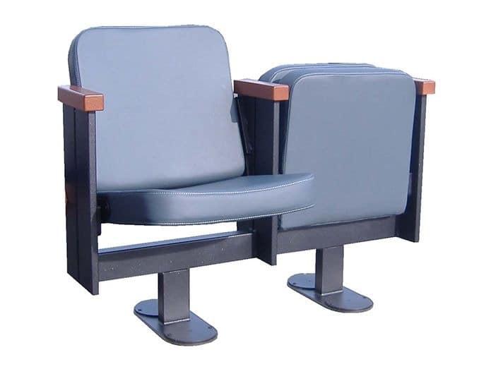 Movia 12, Stuhl mit Klappsitz, für Theater und Kino