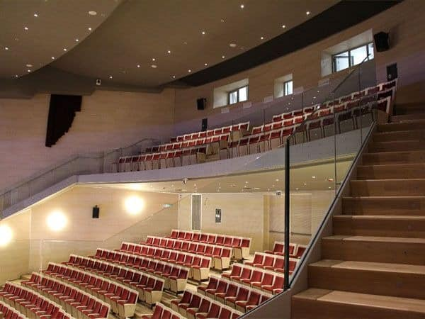 Simplex Export, Stuhl mit Klappsitz, für Theater und Kino