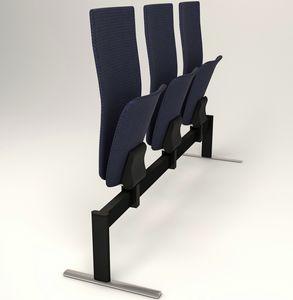 VEKTEN A185 HIGH BACK, Sitz auf Balken mit hoher Rückenlehne