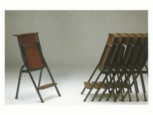 1273 N, Einfache Stuhl mit Metallgestell, für Gebetsstätten