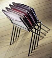 ART. 199 HELENA, Stapelbarer Stuhl für die Küche, gut für platzsparend