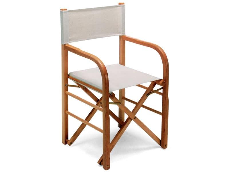 Regista P-SR, Platzsparende Stühle, faltbar und leicht, für Festivals