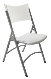 Resol.C - Ken, Stuhl aus Eisen und Polyethylen, für Catering und Bankett