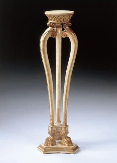 Art. 1115, Tisch für Vase im klassischen Stil, geschnitzt