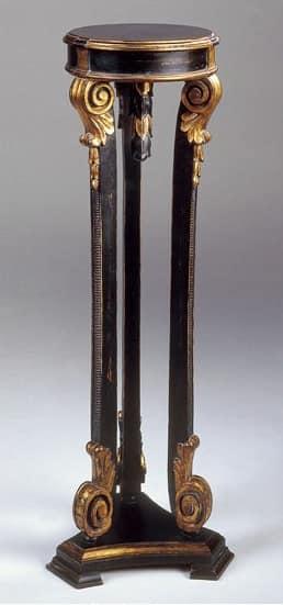 Art. 1181, Tisch für Lampe, im Stil Louis XVI, Antik-Finish