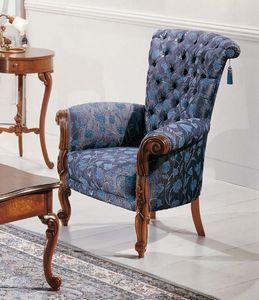 Art. 3596, Bequemer Sessel im Louis XV Stil