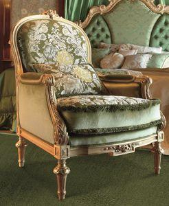 Art. 673, Klassischer geschnitzter Sessel