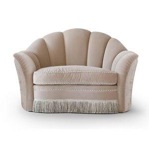 FLORA / Sessel, Sessel mit geräumigem Sitz