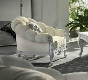 Giada Art. 2931, Umhüllender zeitgenössischer Sessel im klassischen Stil