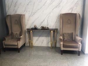 King's, Sessel mit hoher Rückenlehne