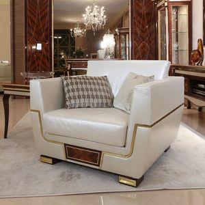 MONTE CARLO / Sessel - LUX, Luxuriöser Sessel für repräsentative Lounges