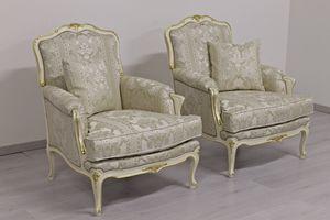 Noblesse, Sessel im Stil des 18. Jahrhunderts