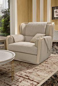 Oliver Art. OL81, Sessel mit umhüllender Polsterung