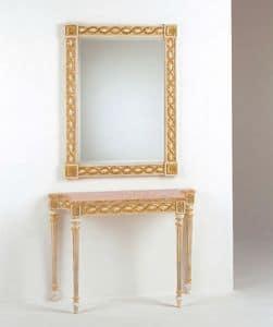 Art. 710, Luxus klassischen Konsolen, Marmorplatte, für Eingänge