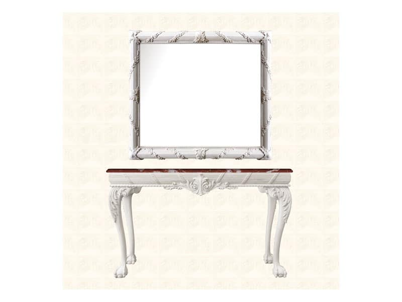 Console art. 260, Beistelltisch aus Holz, Englisch Georgian Stil der Zeit gemacht