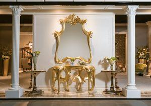 Konsole 5818-5819, Klassische Konsole mit Spiegel