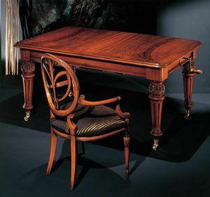120PT, Gepolsterter Stuhl mit Armlehnen