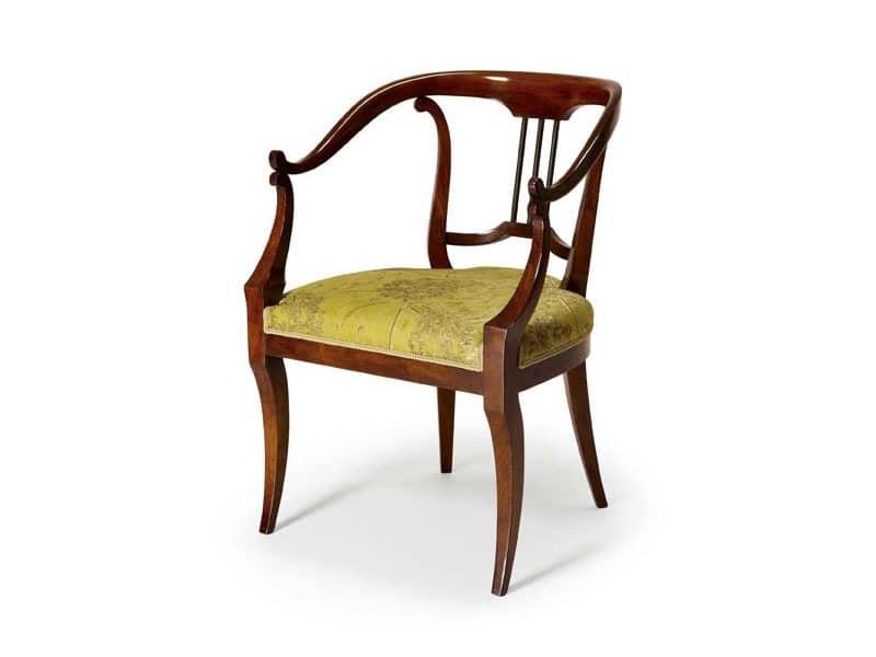 Art.482 armchair, Klassischen Stil Sessel, für Hotels und Restaurants