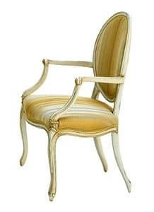 Taylor LU.0982, Gepolsterte Kopfende des Tisches, in luxuriösen klassischen Stil