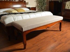 Bank Fußende Bettes, Luxus klassischen Bank, gepolsterte, anpassbare