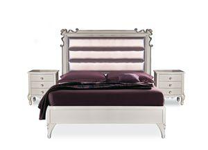 Art. 2620 Melissa, Klassisches Bett mit anpassbaren Abmessungen